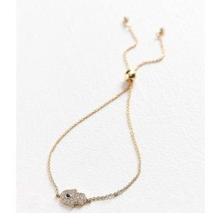 Jewelry - Hand Charm Slider Bracelet